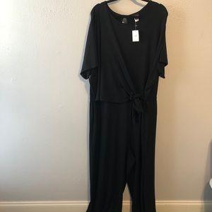 J Jill Wearever collection black jumpsuit size 4xl